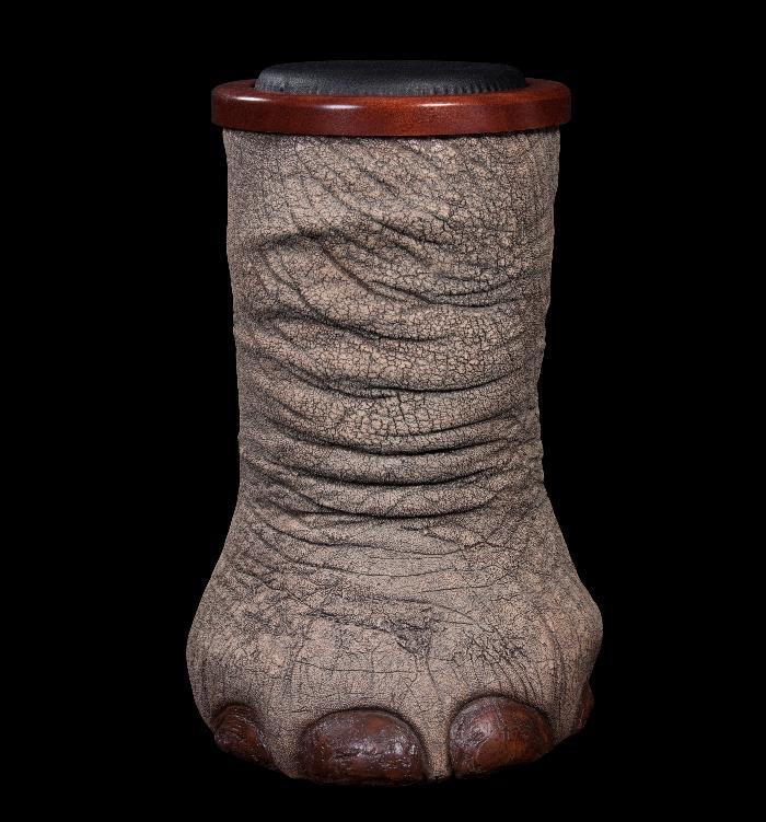Elephant Foot Stool Replica
